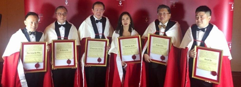La Jurade de Saint-Emilion ouvre deux nouvelles chancelleries à Singapour et Kuala Lumpur