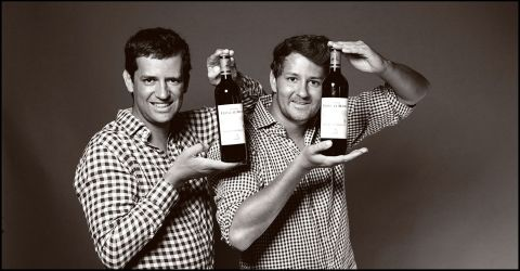 Paul-Arthur et Thibault Bardet
